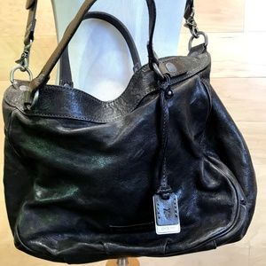Frye brown leather bag